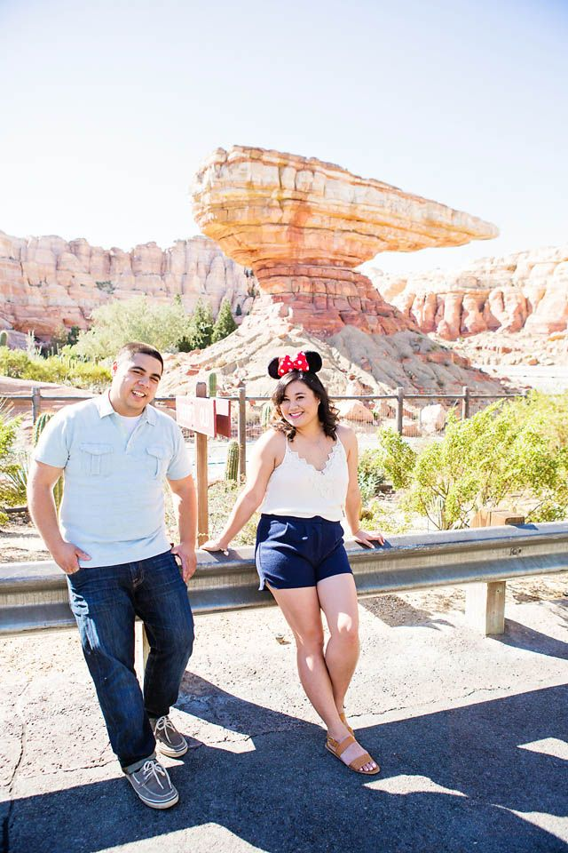 Disneyland Engagement Session: Patricia & Salvador| Disney Weddings