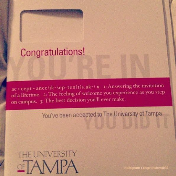 funny awesome college acceptance letter with confetti humor sites - college acceptance letters
