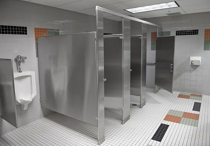 Stainless Steel Bathroom Partitions Badezimmer Badezimmer - Steel bathroom partitions