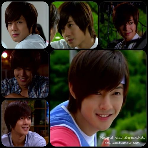 Playful Kiss ♥ Starring; Kim Hyun Joong as Baek Seung Jo