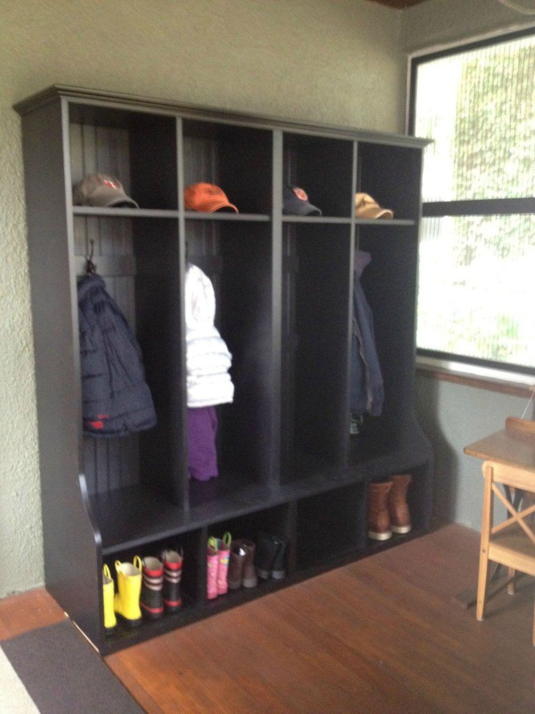 Coat Cubby Cubbies Custom Home Plans Hallway Organization