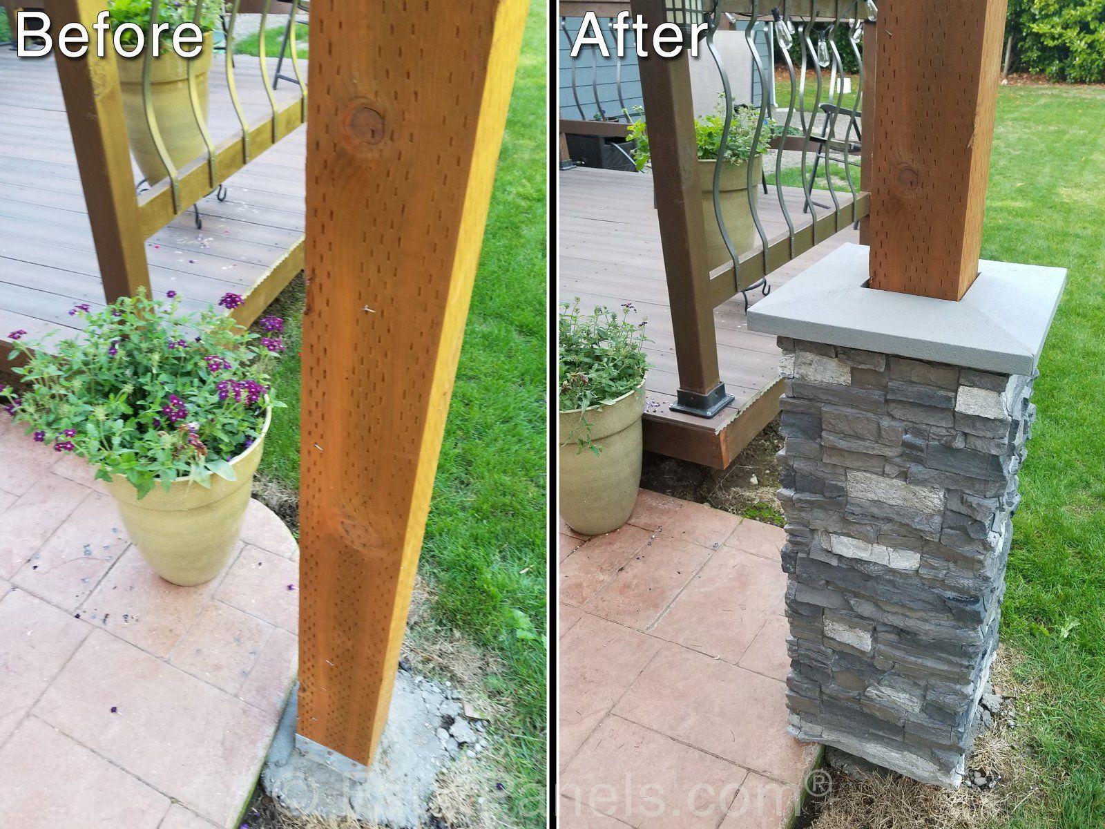 Decorative Column Wraps Exterior Home Design Pictures Porch