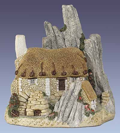 Crofter S Cottage Scottish Collection David Winter 1986 The Only One I Own Purchased While Living In Wales On Dut Dollhouse Dolls Crofters Miniature Houses