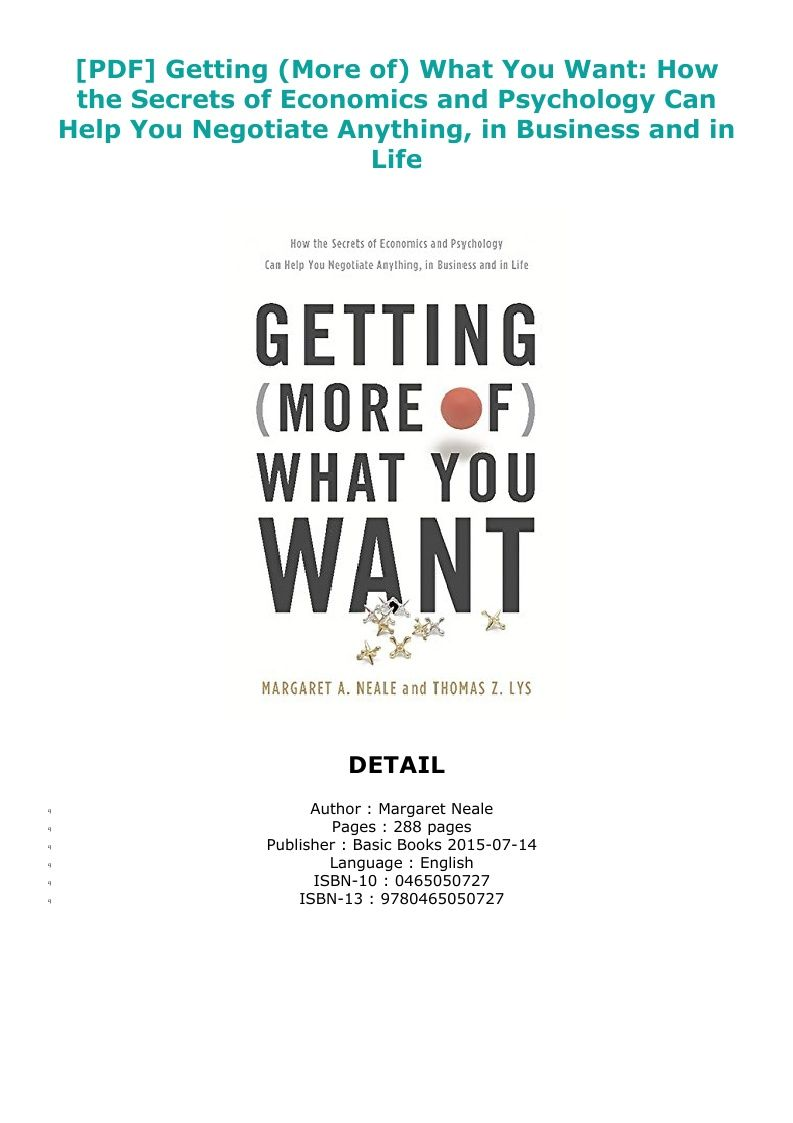 5a51c3d4c68375bcbcadae47f3b396ab - How To Get Anything You Want Pdf Free Download
