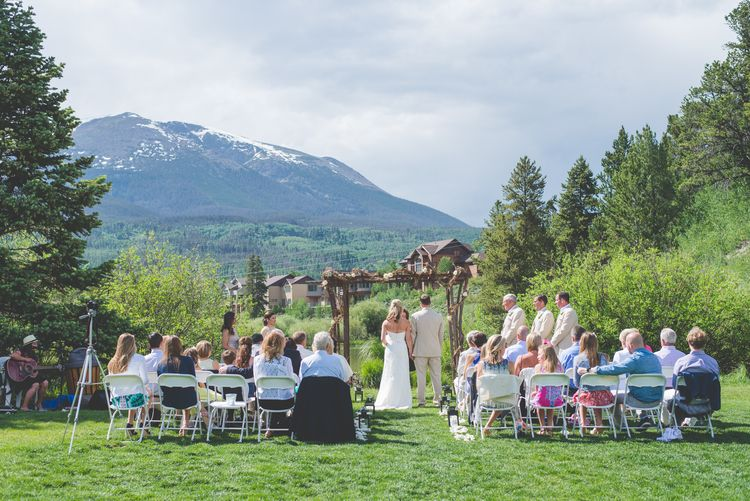 Intimate Wedding at Walter Byron Park in Frisco, Colorado | Frisco ...
