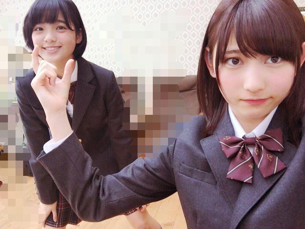 欅坂: 欅坂46 平手友梨奈 志田愛佳 Keyakizaka46 Hirate Yurina Shida Manaka