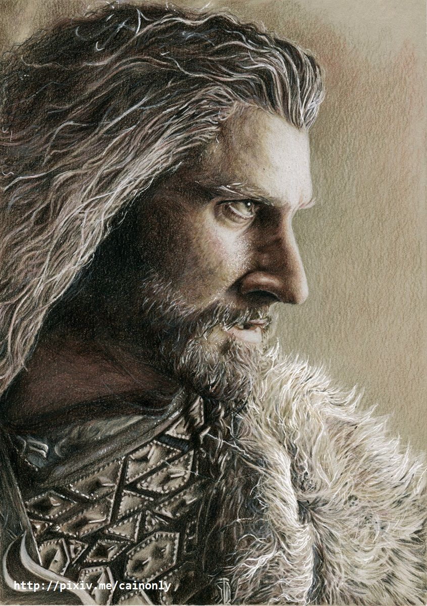Almond_eyes, cainonly: Thorin Derwent Drawing pencils - (Richard Armitage)