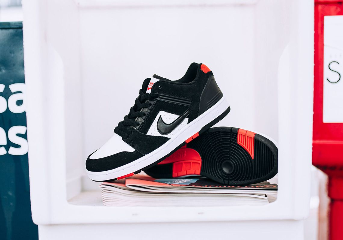 evaporación seguro amenaza  Nike SB Air Force 2 Low Bred AO0300-006 Available Now | Nike sb, Nike, Air  force