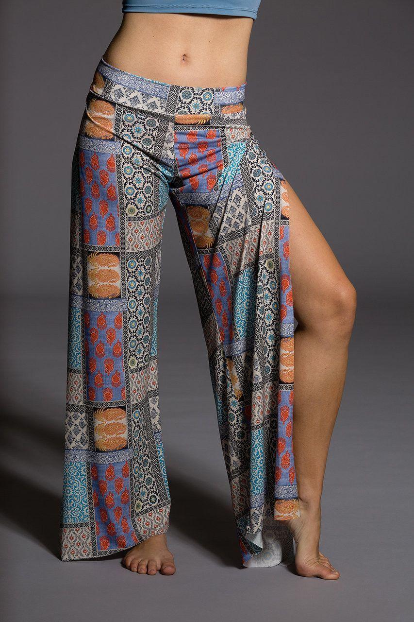 27e4dd451e Onzie Pura Vida Pant - Patch Gypsy Pants, Workout Pants, Yoga Clothing,  Bikram