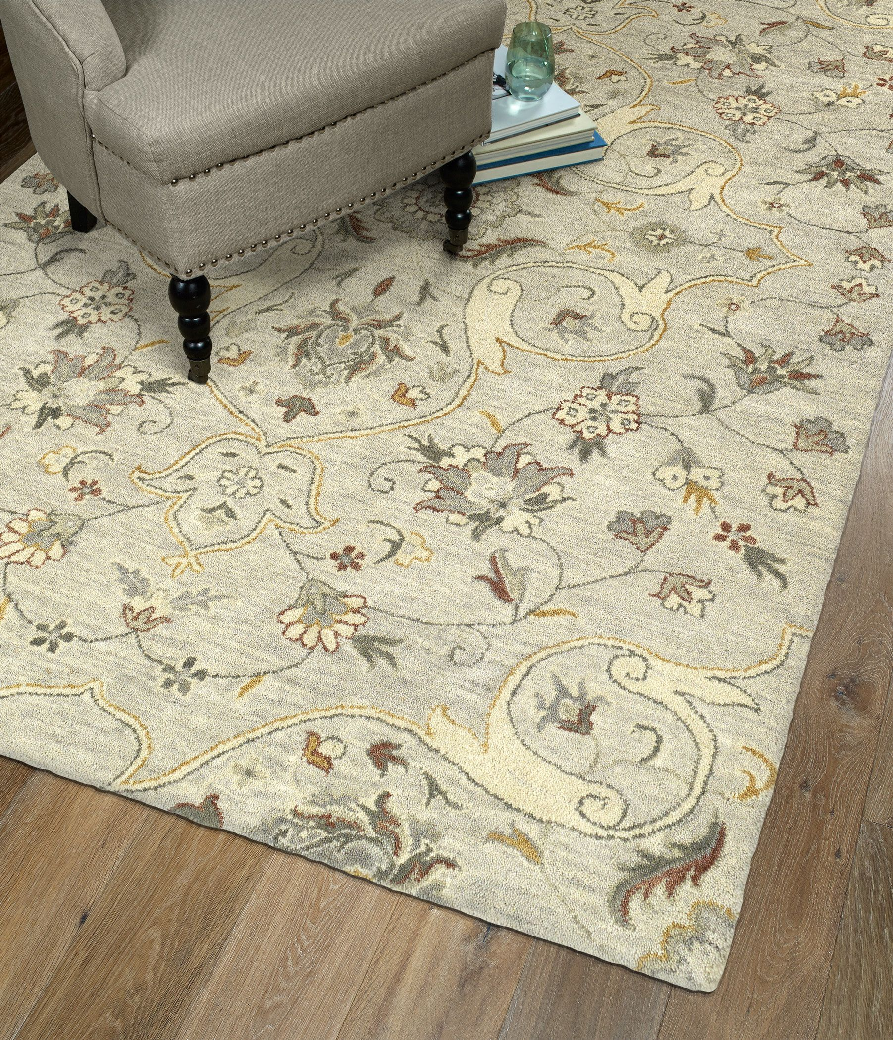 3213 Color Mushroom Size 5 X 7 9 Hand Tufted Rugs