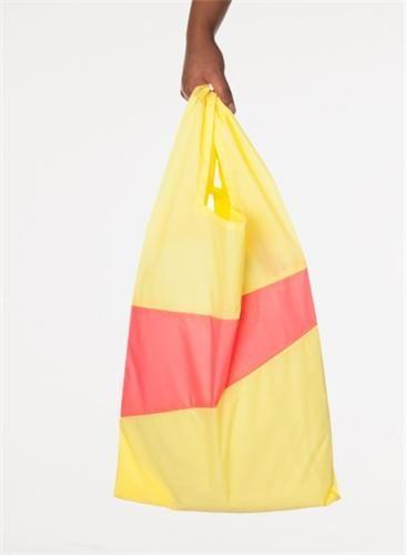 Susan Bijl The New Shoppingbag - Sulphur & Coral