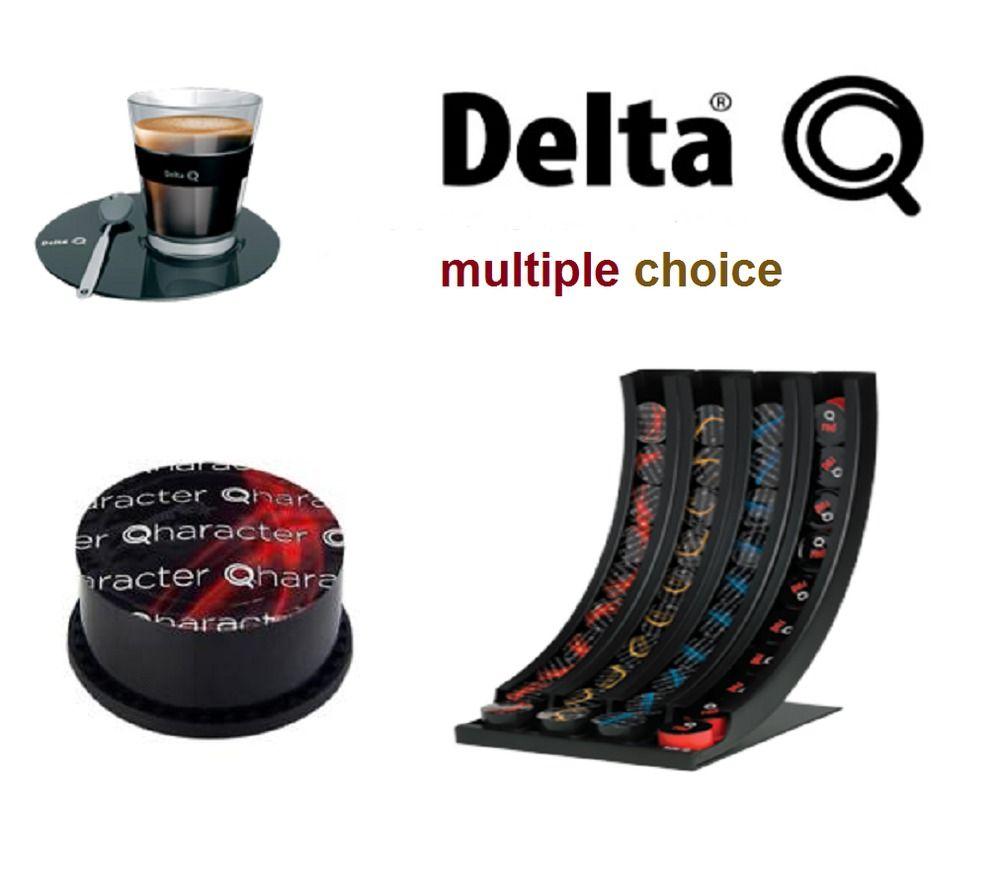 6 Boxes Of 10 Capsule Delta Q Espresso Coffee Multi Choice