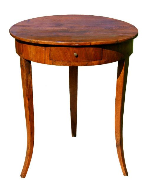 1850 Sidetable My Ideal Would Be Inlaid Round End Tables