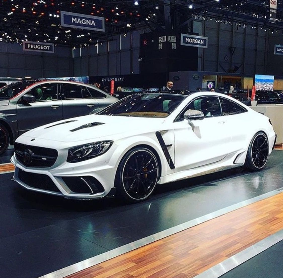 Mercedes Benz S Class Coupe Modified By Mansory Mercedes Benz