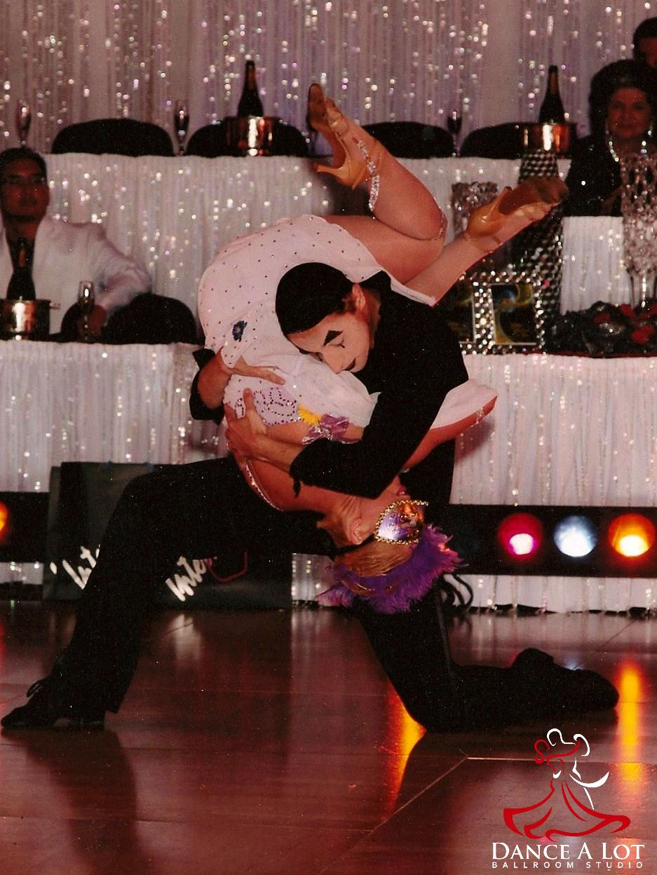 "Adriana Bezmenova and Georgi Kanev dancing ""The Mime"" showcase"