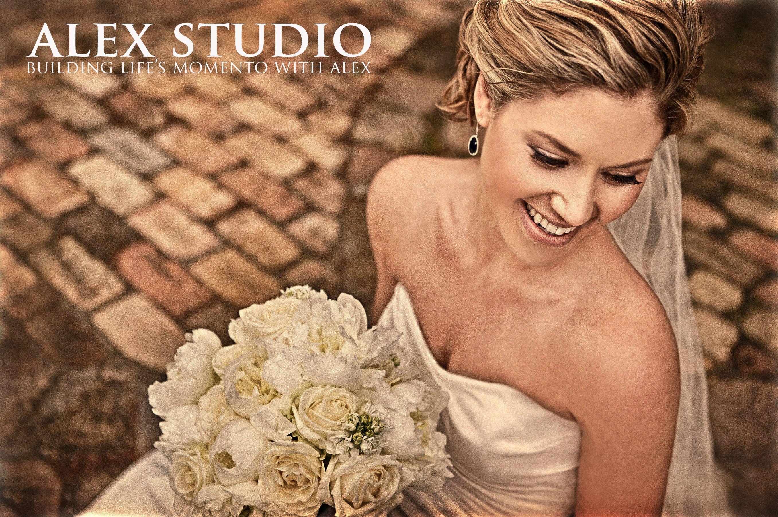 ALEX STUDIO PHOTOGRAPHY AND CINEMATOGRAPHY Maternity, Newborn, Head shot, Fashion portfolio Destination Wedding- Worldwide Travel Please contact us at 425.883.6800 Wedding, Bride Self Portrait with bontique