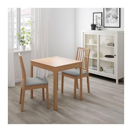 Tavoli Da Pranzo Allungabili Ikea.Ekedalen Tavolo Allungabile Rovere Casa Tavolo Allungabile Ikea
