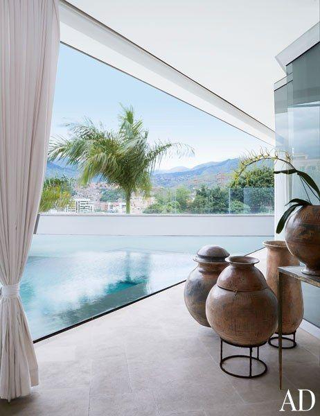 Look Inside Nancy Gonzalez\u0027s Opulent Home in Colombia Wall