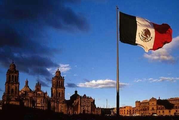 Centro historico de la ciudad de México.