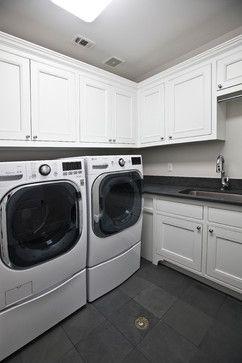 Large laundry room with plenty of space http://www.customhomesbuilderhouston.com/