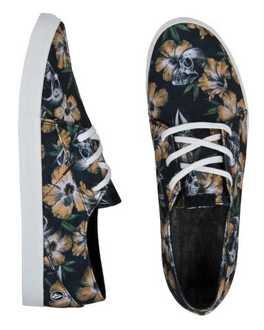 31f4279408 Volcom Lo Fi Shoes Stoney Black
