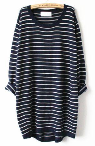 Bed & Breakfast Striped Shirt Dress