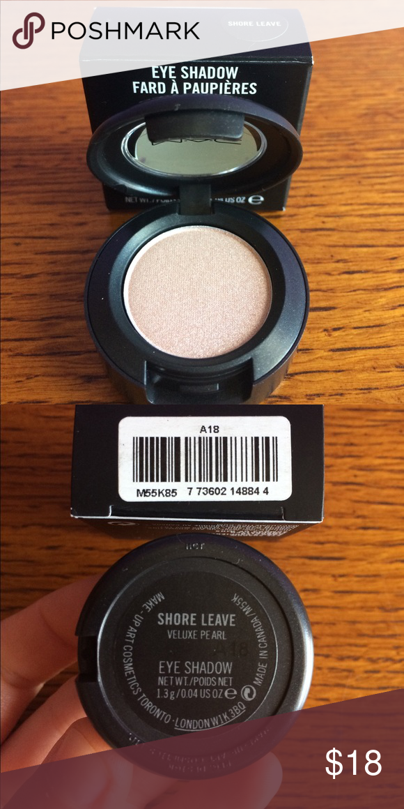 """NIB MAC Eyeshadow """"Shore Leave"""" RARE Brand new, never swatched, authentic, bought at MAC store. Discontinued, hard to find. MAC Cosmetics Makeup Eyeshadow"""