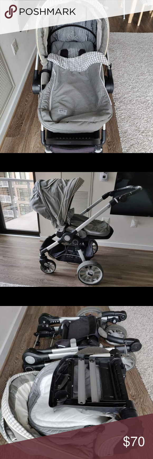 German baby stroller with a Has been used and it