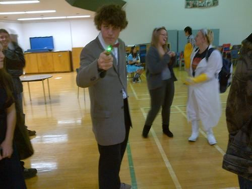 Douglas as the 11th Doctor.
