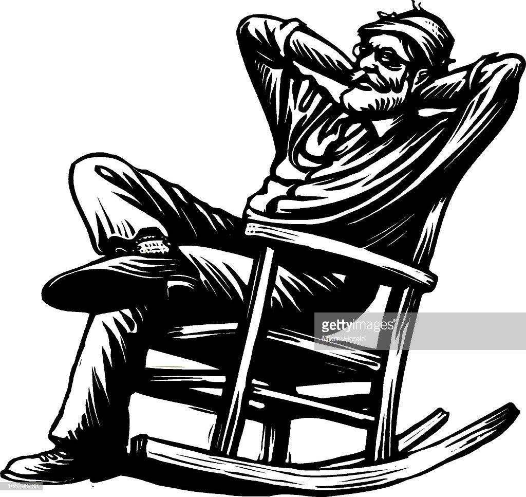 Image Result For Old Man Sitting In Rocking Chair Man Sitting Rocking Chair Cool Logo