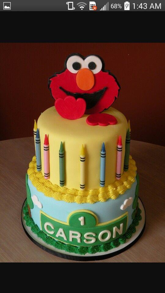 Elmo Birthday Cake 2nd Parties 1st Birthdays Cookies