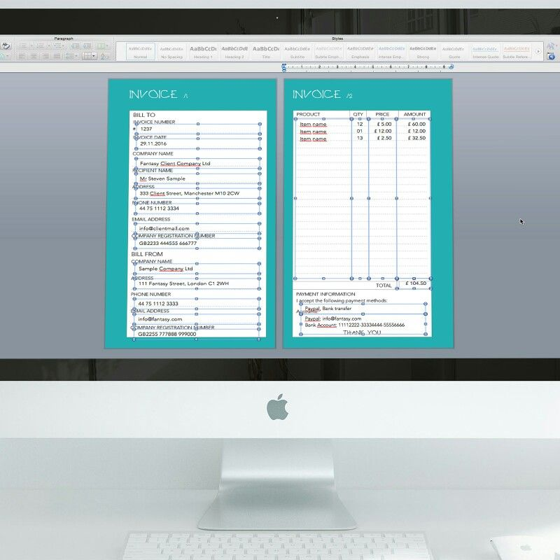 Is your Invoicing System alright? What do u use to invoicing? www - use of an invoice