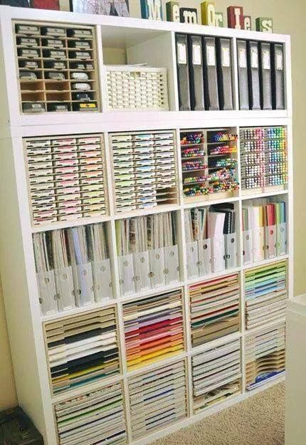 Organization system for craft room