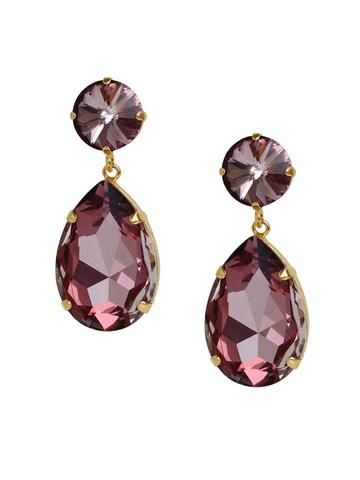 d5a915c57 Voila Swarovski Crystal Drop Earrings – Olive + Piper | new arrivals ...