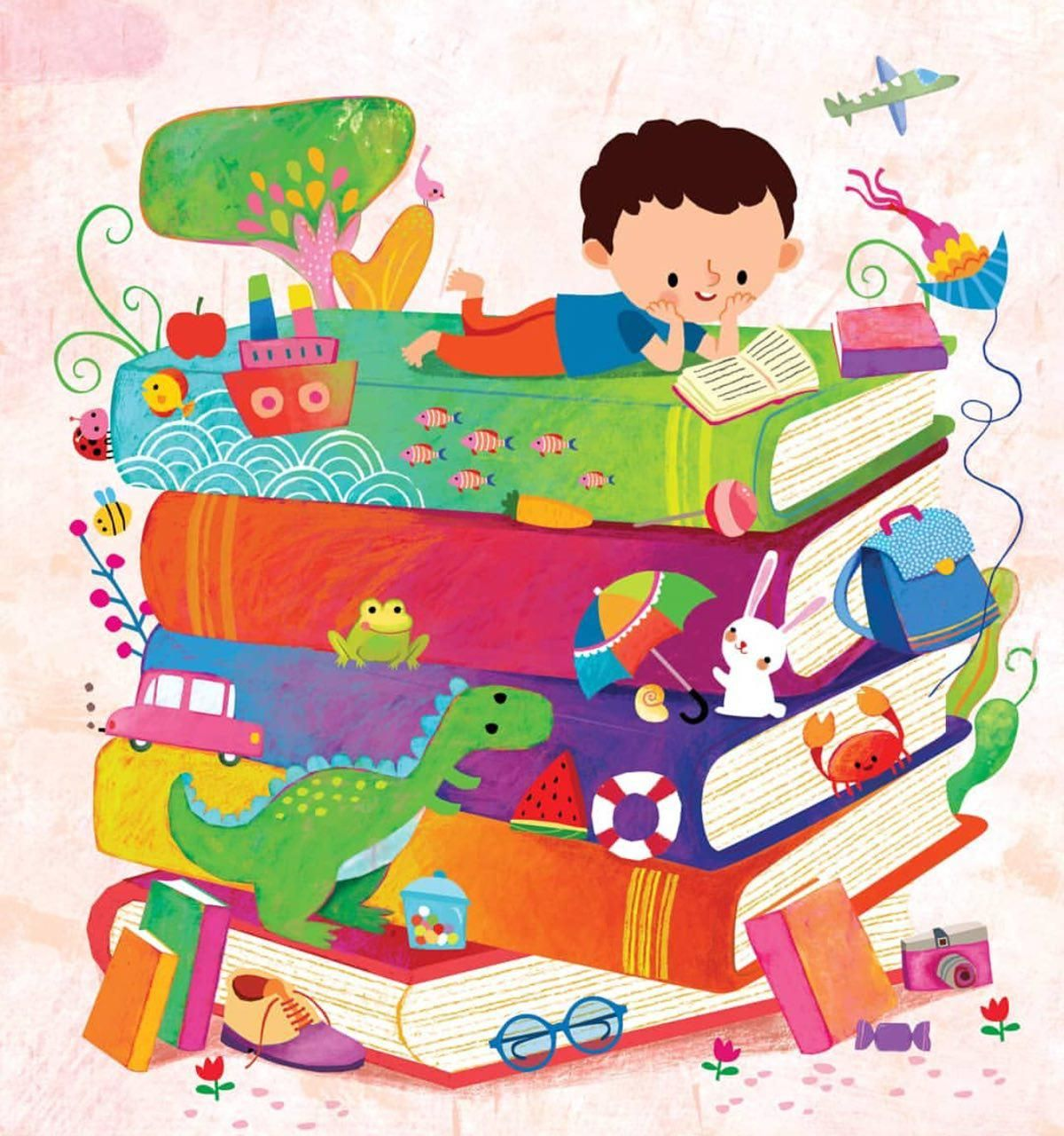 Детские картинки книги