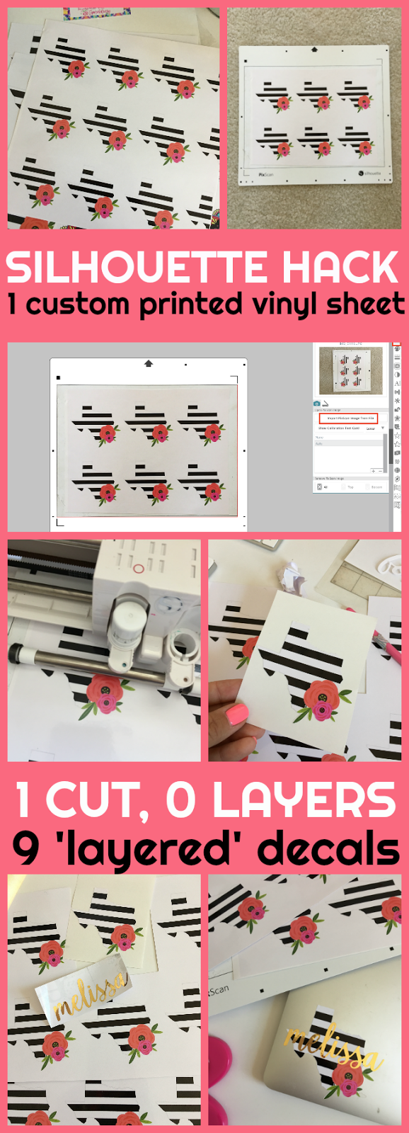 Print And Cut Bulk Vinyl Decals Using Sparkle Berry Inks Upload - Custom vinyl decals upload image