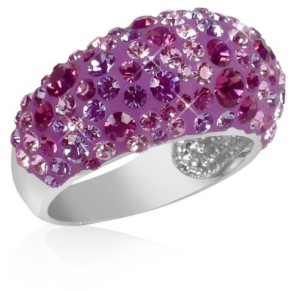 Gisèle St.Moritz Fantasmania - Purple Crystal ring.