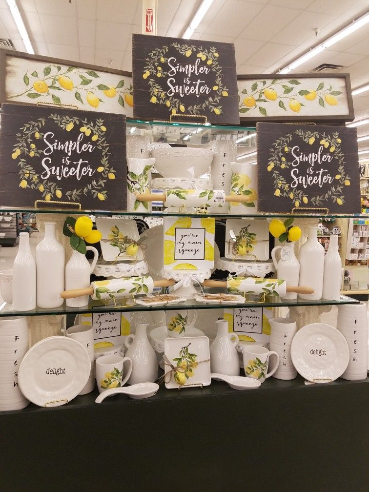Hobby Lobby Display Ideas With Images Kitchen Decor Themes