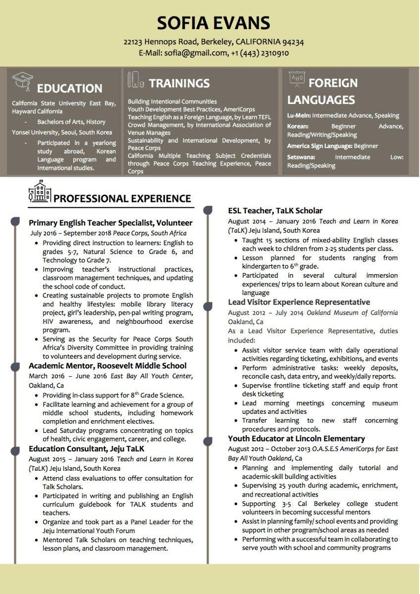 Word CV/Resume Template Resume examples, Cv resume