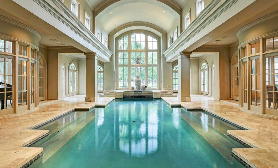 13 000 Square Foot Mansion In Houston Tx With Images Indoor