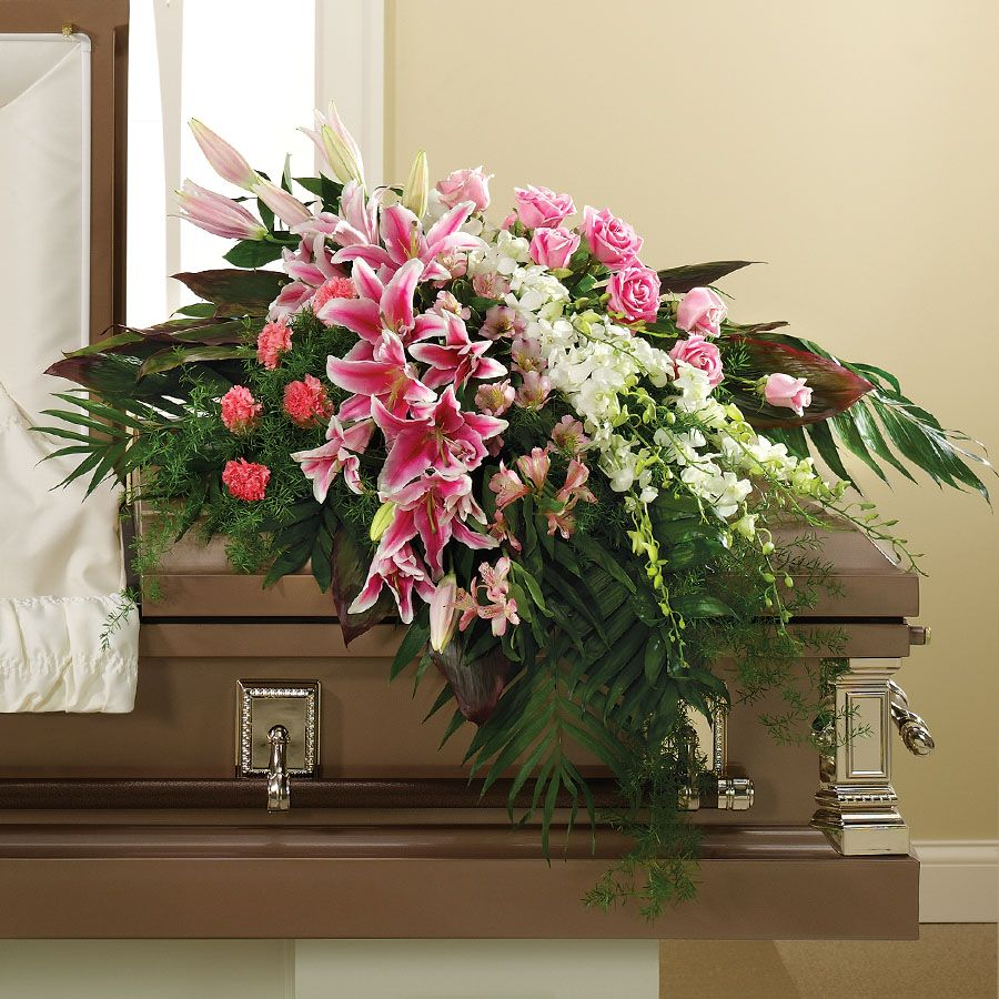 Funeral casket spray for the home pinterest funeral caskets funeral casket spray dhlflorist Image collections