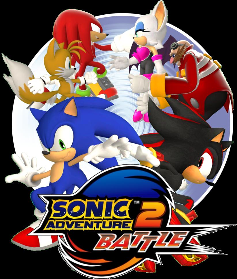 Sonic Adventure 2 Battle Logo By Lucas Da Hedgehog On Deviantart Sonic Adventure Sonic Hedgehog