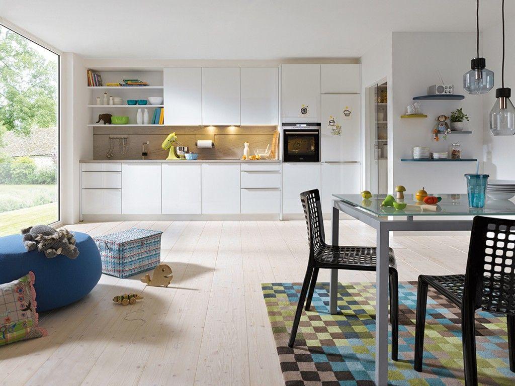 White Gloss Kitchen Decorar cozinha, Cozinhas modernas