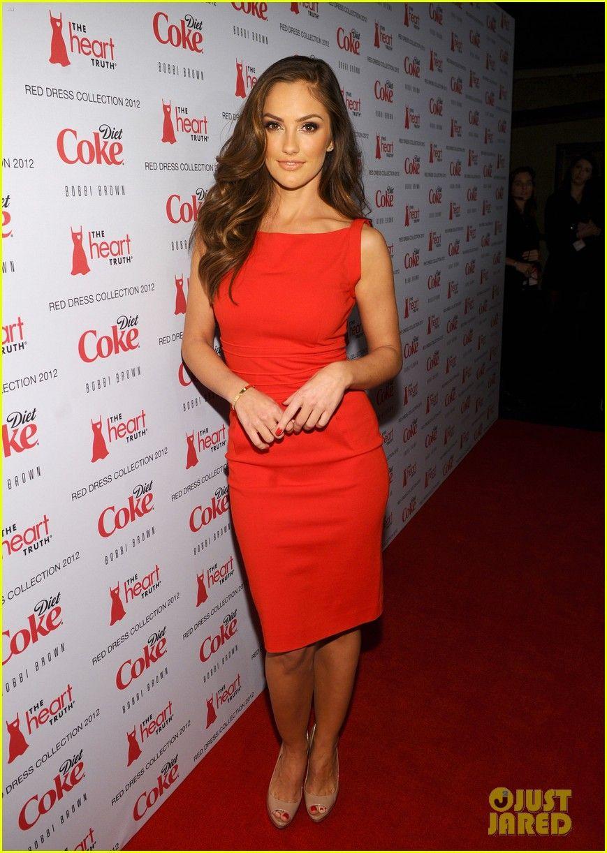 Minka Kelly Minka Kelly Red Dress Red Dress Style