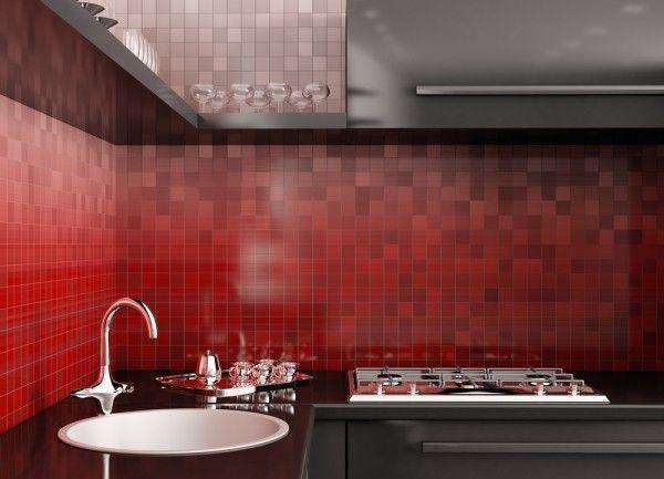 Red Kitchen Backsplash Ideas Submited Images From Red Tiles For Kitchen  Backsplash