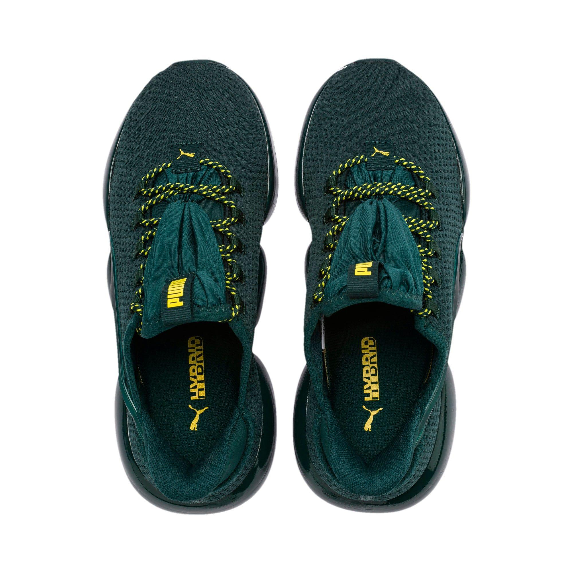 puma chaussure femme vert