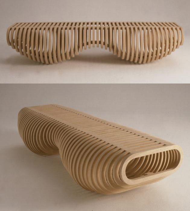 Unusual Indoor Benches 25 Unique Wooden Designs Holzdesign