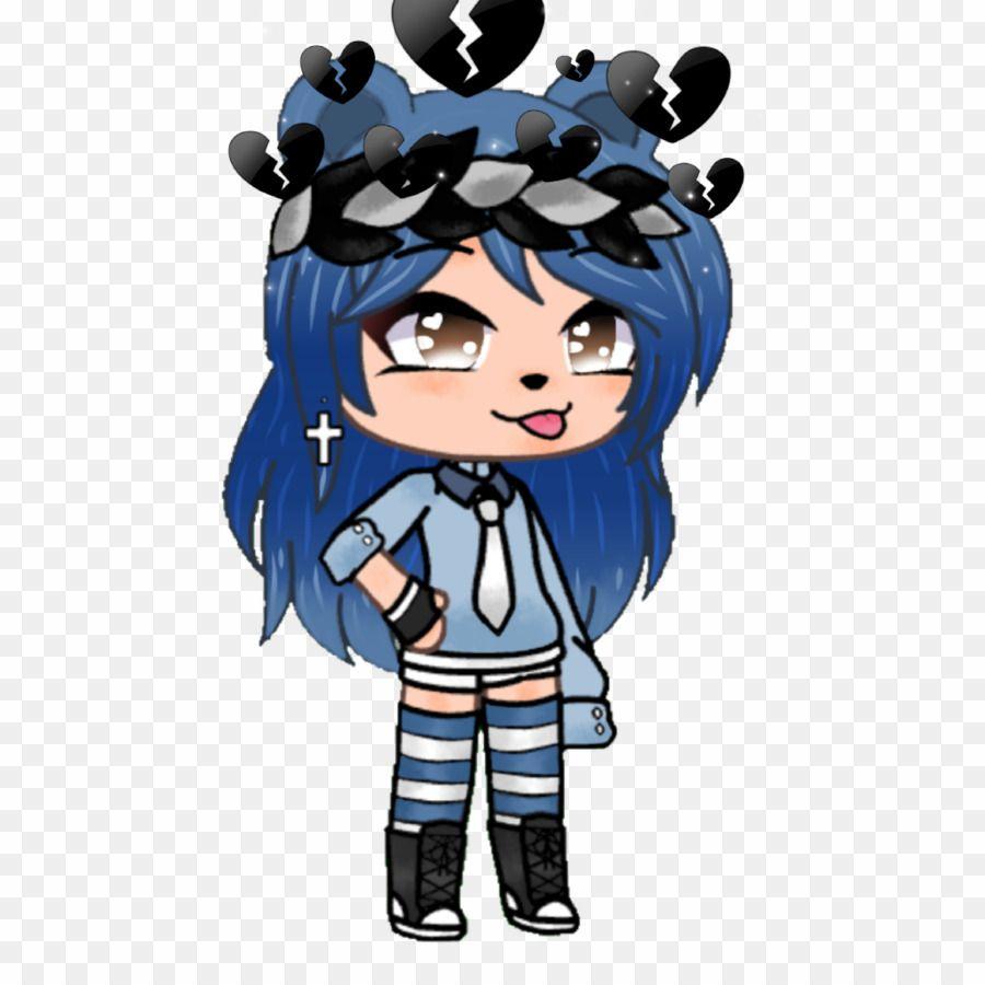 Gacha Life Cute Tomboy Girl Png Tomboy Girl Clipart Anime Wolf Girl Cute Anime Chibi Cute Anime Character