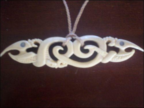 Manaia Koru Bone Carving By 2meke On Deviantart In 2020 Bone Carving Carving Bone Crafts