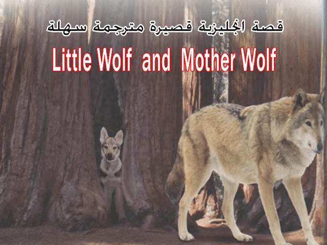 قصة قصيرة انجليزية مترجمة سهلة جدا للمبتدئين Little Wolf And Mother Wolf Movie Posters Poster Movies